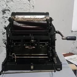 Gestetner-féle stencilgép, egy magyar találmány a sokszorosítás történetében